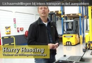 Harry Hassing is trillingsdeskundige en trainer van Jungheinrich