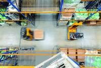 Navigatie systemen kunnen ook in het brede gangpad de efficiency verhogen