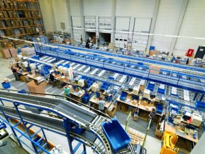 magazijnautomatisering rollenbanen automatisch magazijn