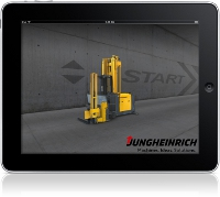 Jungheinrich Warehouse navigation App