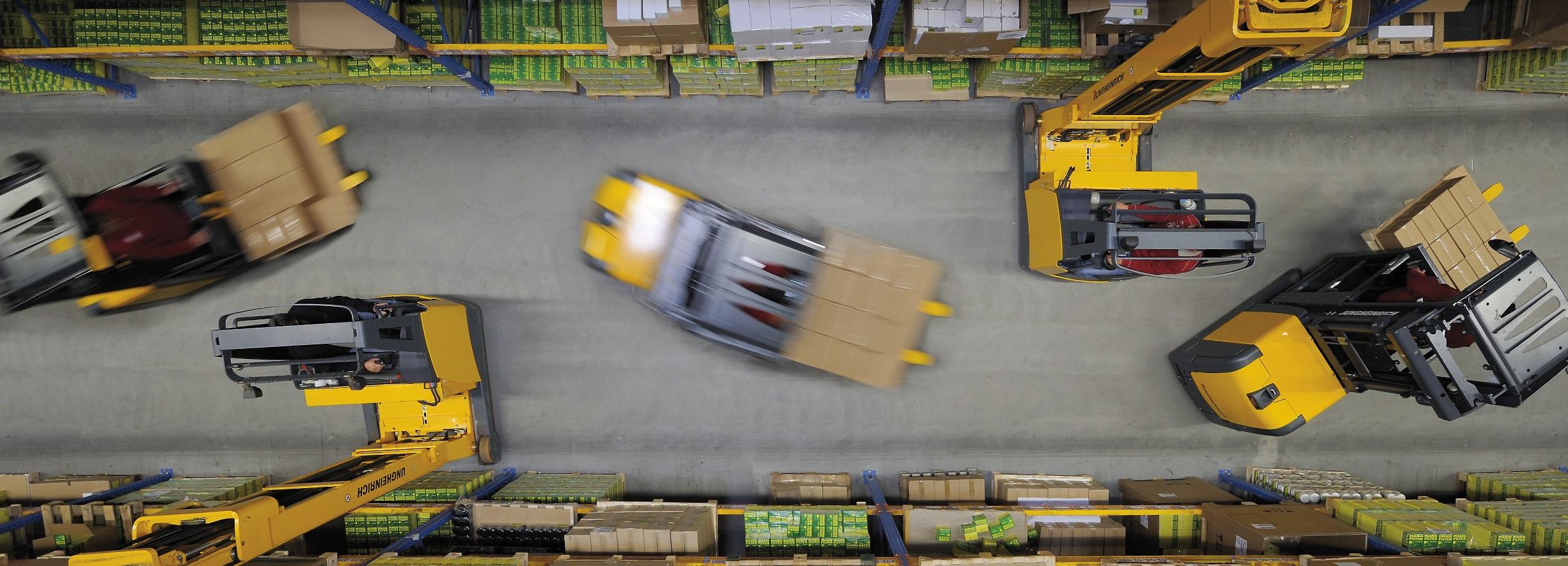 Efficiënte magazijninrichting is een logistieke krachttour.