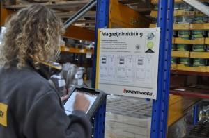 Inspectie magazijninrichting